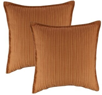 Austin Horn Classics Dupione Outdoor Sunbrella Throw Pillow