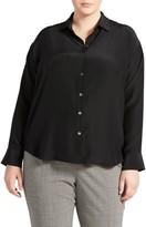 Pari Passu Button-Up Silk Shirt