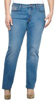 Levi's Plus Size Slim Straight-Leg Jeans
