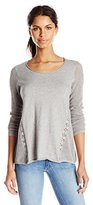 Lucky Brand Women's Inset Lace Tunic