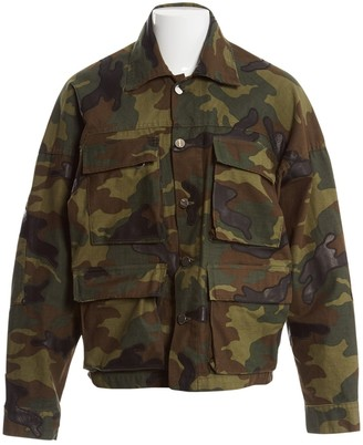 Amiri Green Cotton Jackets