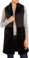 Steve Madden Reversible Faux Fur Vest