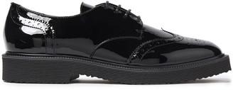 Giuseppe Zanotti Hilary Perforated Patent-leather Brogues