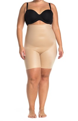 Spanx Power Conceal-Her High-Waisted Mid-Thigh Shorts (Plus Size)