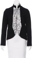 Gryphon Virgin Wool Embellished Jacket