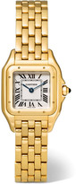 Cartier Panthère De Small 18-karat Gold Watch - one size
