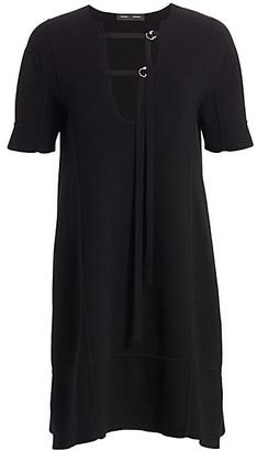 Proenza Schouler Short-Sleeve T-Shirt Dress