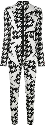 Perfect Moment Star Motif Knitted Jumpsuit