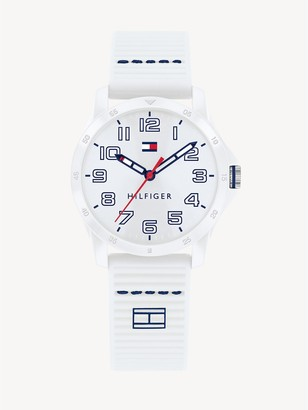 Tommy Hilfiger TH Kids White Watch With Silicone Strap