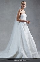 Oscar de la Renta Women's Harper Silk Corded Lace Ballgown