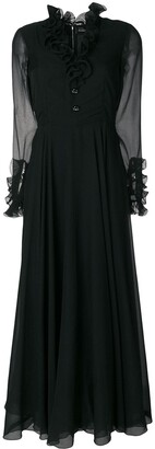 A.N.G.E.L.O. Vintage Cult chiffon sleeve dress