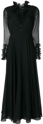 A.N.G.E.L.O. Vintage Cult Chiffon Sleeve Dress
