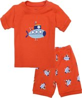 Kidsmall Baby Boys Girls Shorts Pajama Set Sleepwear 100% Cotton 2T-7T