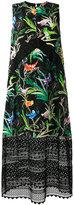 No.21 printed dress - women - Silk/Polyester/Acetate - 40
