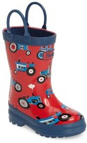 Hatley Boy's Farm Tractors Waterproof Rain Boot