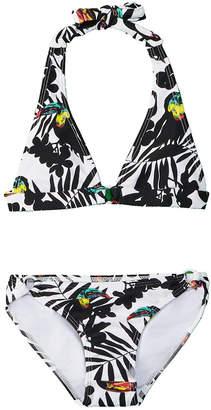 Shoshanna Girls' Halter Bikini