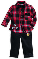 Disney Mickey Mouse and Pluto Holiday Shirt and Pants Set for Baby
