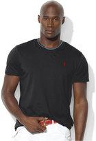 Polo Ralph Lauren Men's Big and Tall Classic-Fit V-Neck Short-Sleeve Cotton Jersey T-Shirt