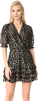 Just Cavalli Leopard Ruffle Dress