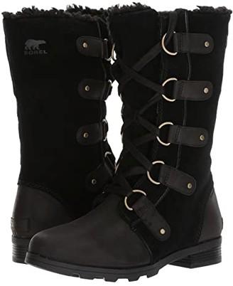 Sorel Emelie Lace (Black) Women's Waterproof Boots