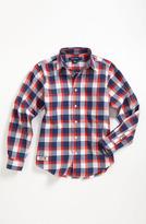 Brooks Brothers Check Sport Shirt (Big Boys)