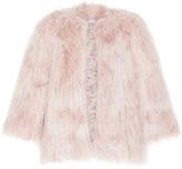 Luisa Beccaria Faux Fur Coat