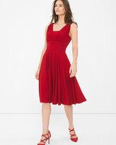 White House Black Market Genius Convertible Auburne Dress