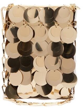 Paco Rabanne Sparkle 1969 Mini Sequinned Shoulder Bag - Womens - Gold