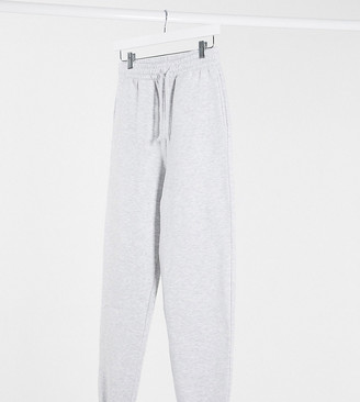 Collusion oversized joggers in ash grey marl