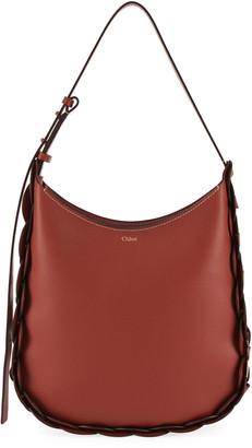 Chloé Darryl Medium Leather Hobo Bag