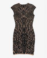 Rvn Exclusive Alligator Jacquard Dress