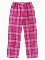 Calvin Klein Girls Plush Plaid Pants