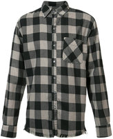 NSF checked shirt - men - Cotton - S