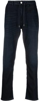 Ermenegildo Zegna Straight-Leg Drawstring Jeans