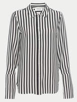 Frame Long Cuff Silk Pj Blouse
