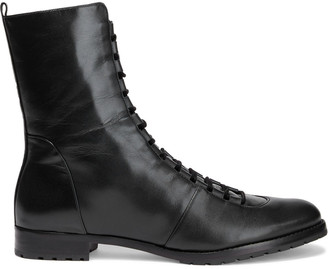 Alexandre Birman Benjamine Leather Ankle Boots