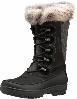 Helly Hansen Women's W Garibaldi Vl-W Cold Weather Snow Boots Jet Black/Jet Black/Charcoal