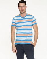 Le Château Stripe Cotton Slub T-Shirt
