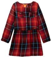 Joe Fresh Plaid Dress (Toddler Girls)