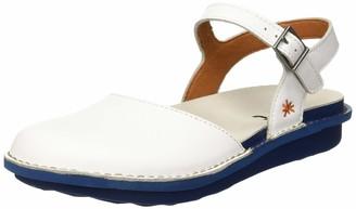 Art Women's 1301 Grass White-Jeans/I Explore Closed Toe Sandals 3 UK