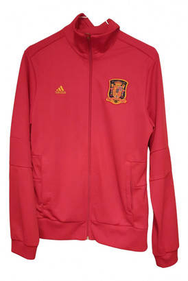 adidas Red Polyester Jackets