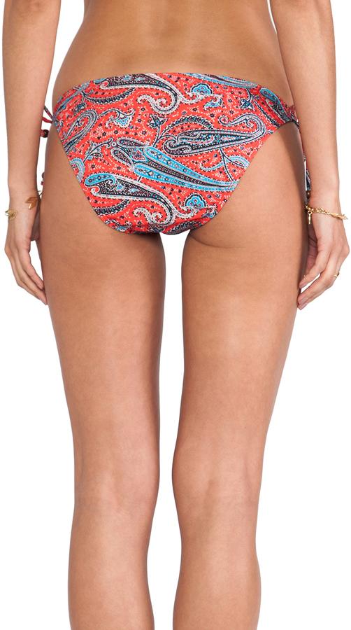 Shoshanna Ring String Bikini Bottom