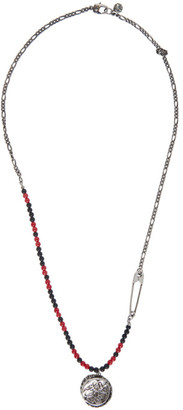 Alexander McQueen Multicolor Beads and Skull Necklace