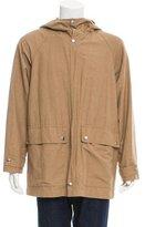Marni Hooded Zip-Up Coat