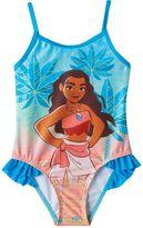 Disney Disney's Moana Toddler Girl Ruffle One-Piece Swimsuit