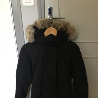 Canada Goose Victoria Black Coat for Women