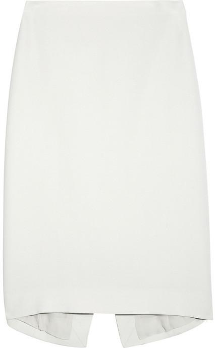 Calvin Klein Collection Mayfair silk-blend skirt