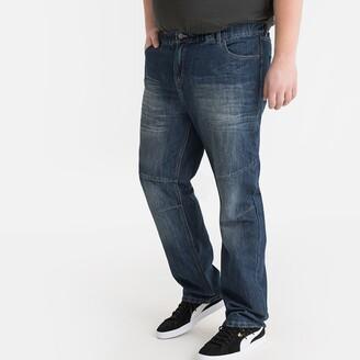 "La Redoute Collections Plus Regular Waist Jeans, Length 33"""