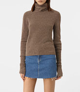 AllSaints Alpha Roll Neck Sweater