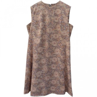 Rodier Beige Dress for Women Vintage